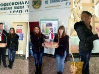 """С мартеници посрещаха днес в ПГХВТ """"Луи Пастьор"""" – Плевен"""