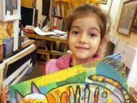 """Петгодишна плевенчанка със сребърен медал в конкурса """"Малките нашенци"""""""