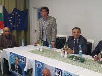 Централният предизборен лъч на Движението за права и свободи посети днес 15-ти многомандатен избирателен район – Плевен