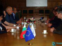 Кметът Спартански се срещна с новоизбрани депутати от Плевен