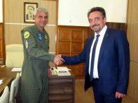 Председателят на Общинския съвет се срещна с командира на УАГ – Долна Митрополия