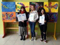 """С куп награди се завърна от Словения плевенската Артшкола """"Колорит"""""""