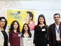 Мнението на учениците от плевенската Езикова се чу в Брюксел (галерия)
