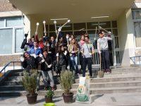 100 дръвчета засадиха деветокласници от ПГРТО-Плевен