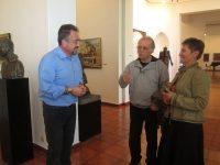 """Председателят на Общинския съвет се срещна с директора на  галерия Дарение """"Колекция Светлин Русев"""""""