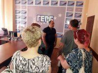 Депутатът Владислав Николов се срещна с кандидати за членове на ПП ГЕРБ – Плевен