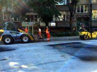 Продължават текущите улични ремонти в Плевен