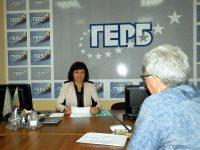 Въпроса за инвалидните пенсии поставиха плевенчани пред депутата Ралица Добрева