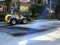 Продължават текущите улични ремонти в Плевен, с приоритет са маршрутите на градския транспорт