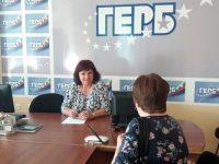 Народните представители от ГЕРБ Владислав Николов и Ралица Добрева с приемен ден в Плевен