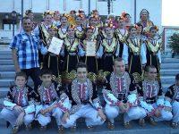 """Ансамбъл """"Мизийска младост"""" от Тръстеник със златен медал от международен фестивал"""