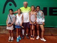 """Нови успехи за тенисистките на ТК """"Плевен 90"""""""