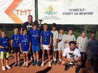 """ТК """"Плевен 90"""" спечели първо място на регионалното отборно първенство по тенис"""