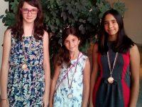 """Момичетата на СКШ """"Плевен XXI"""" с пълен комплект медали от Държавното отборно първенство"""