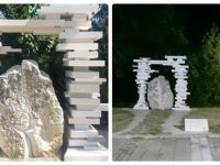 Готова е арката на паметната плоча на Васил Левски в Червен бряг