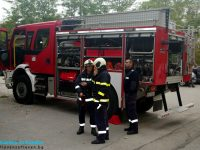 Огнеборците гасиха пожар в Славяново, товарен автомобил се запали край Плевен