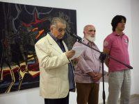 Академик Светлин Русев откри първата изложба на Чавдар Петров в Плевен