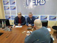 За проблем с тролейбусни спирки сигнализираха граждани народния представител Владислав Николов