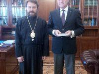 Румен Петков покани Волоколамския митрополит Иларион на тържествата за 140-та годишнина от Плевенската епопея