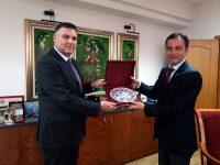 Областният управител на Плевен Мирослав Петров прие генералния консул на Република Турция Хюсеин Ергани
