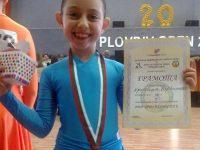 Нежната Кристина Върбанова с богата колекция златни медали от състезания по спортни танци