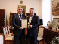 Георг Спартански е отличен за успешно управление на голяма община