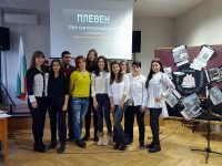 Млади историци от Езиковата отбелязаха Освобождението на Плевен