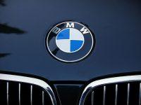 BMW горя на входа на Плевен откъм Ясен