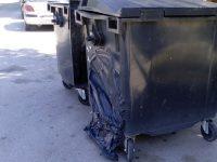 Два контенейнера за отпадъци изгоряха в Плевен