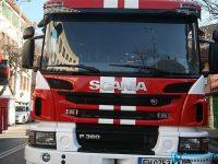 Пожар горя в къща на плевенска улица