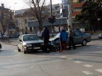 Катастрофа на кръстовище в центъра на Плевен