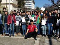 Силно представяне за плевенските мегейци на Пролетното национално състезание  по физика