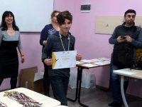 Плевенчанинът Георги Енчев спечели сребърен медал от турнир по информатика в столицата