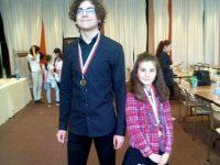 """Два сребърни медала за състезателите на СКШ """"Плевен XXI"""" от Държавните първенства по шахмат"""