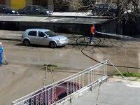 Започна първото за годината миене на улиците в Плевен