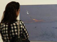 Първа самостоятелна изложба на Милко Божков в Плевен – снимки