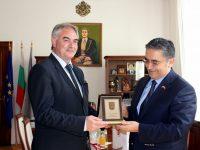 Новият посланик на Турция посети Плевен с конкретни предложения за развитие на двустранните връзки