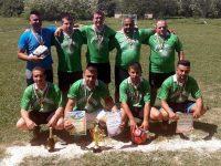 """""""Зелените звезди"""" триумфираха в турнира по футбол на малки врати в Радомирци"""