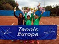 """Изключително представяне за възпитаниците на ТК """"Плевен 90"""" в турнирите от календара на """"Тенис Европа"""""""