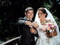 Менделсон за шампиони: Плевенчанката Борислава Ганева и Пламен Кирилов минаха под венчило (снимки)