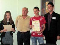 Млади творци от Червен бряг бяха наградени от кмета инж. Данаил Вълов
