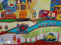 """Откриват изложба с отличени творби от областния етап на конкурса """"С очите си видях бедата"""""""