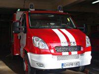 Пожарникари от Левски гасиха пожар в комин