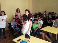 """Доброволци от БМЧК гостуваха в ОУ """"Климент Охридски"""" – Плевен"""