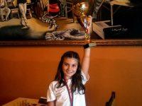 Нора Рашева с шампионска титла от Държавното първенство в Плевен