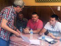 Депутатът Стефан Бурджев и председателят на Общински съвет Пордим Илиян Александров се срещнаха с жители на Згалево