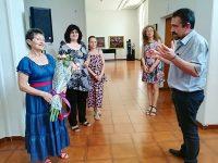"""Мартин Митев уважи рождения ден на Художествена галерия """"Дарение Светлин Русев"""""""