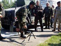 Военни аташета от 10 държави посетиха гарнизон Плевен (снимки)