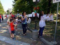 Децата на град Левски рисуваха своите мечти