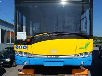 Първите два от общо 14 нови тролейбуса вече пристигнаха в Плевен